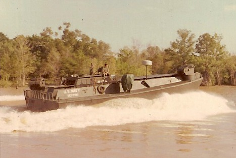 Armored Vietnam River Landing Craft